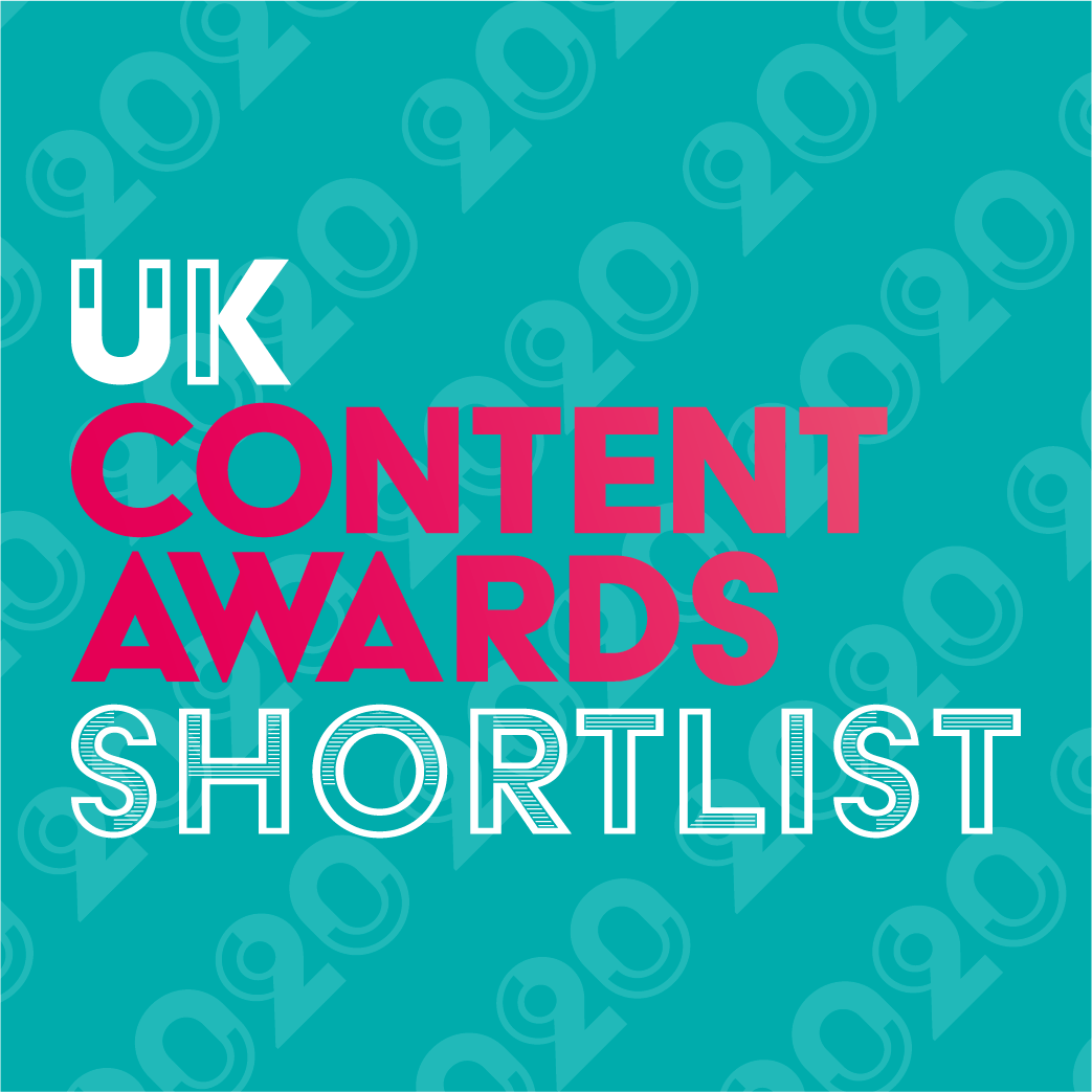 Press Release for UK Content Awards 2020 Shortlist